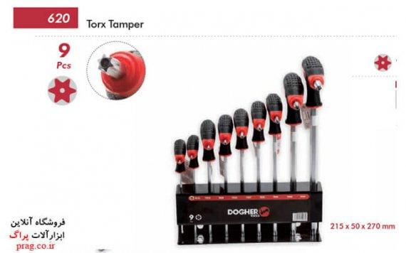 آچار آلن شش گوش دستگیره عصایی TORX دوگر کد 001-620