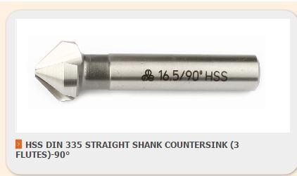 مته های خزینه زن یا countersink drill bit